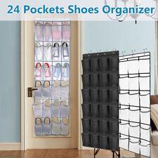 24 Pockets Over Door Hanging Bag Box Shoe Storage Organiser·