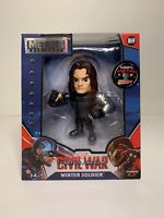 "Metals Die Cast Marvel Captain America Civil War Winter Soldier 4"" Figure NEW"
