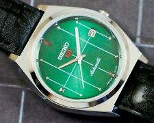 New listing VINTAGE UNUSED SEIKO 5 CAL.6309 AUTOMATIC WITH DATE JAPAN MEN'S WATCH #5-02619