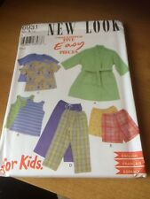 New Look Child's Unisex Childs paper sewing pattern. New & Uncut 6931 size 3-8
