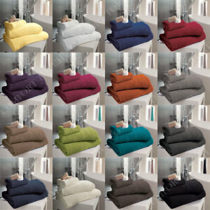 Luxury Hampton 100% Egyptian Cotton Towels Bath Sheets Super Soft and Absorbent