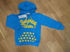 Imprimé Étoile Sweat à Capuche en Bleu Par SPUNKY KIDS Neuf Avec étiquettes Garçon 9-10 Ans Pull/Pull-over