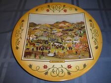 WILL MOSES 'SEPTEMBER FAIR' Autographed Ltd & #'d 10 1/4 In Diam.Plate