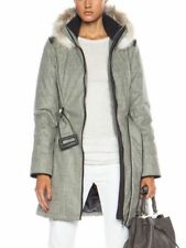 "Canada Goose Branta ""Modena"" Black Label Down Filled Wool Coat Jacket £1600"