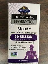 Garden of Life Probiotics Mood+ 50 Billion 60 Vegetarian Capsules Exp. 06/2020