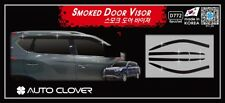 Autoclover Smoke Tinted Wind Deflectors 6p for 2018 Ssangyong All New Rexton