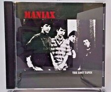 MANIAX the Lost Tapes CD Max RNR Negative Approach SSD oop