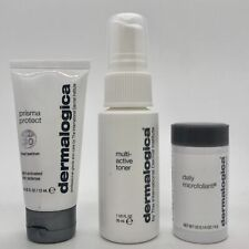 Dermalogica Hydrate & Glow Facial Skincare Kit EXP 6/21 #7271 NEW DAMAGED BOX