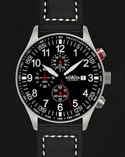 ASTROAVIA XL AIR CRAFT 20L NEW EDITION 6 ZEIGER CHRONOGRAPH 44mm FLIEGERUHR N57S