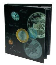 Currency Coin Collection Book, Euro Coin Collection Album SAFE 7383