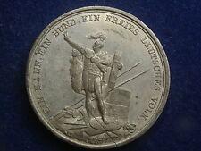 Zinnmedaille 1840, Ein Mann ein Bund  ein freies Deutsches Volk  Neuss W/16/763