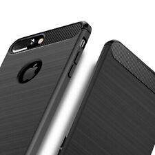 For iPhone 7 Plus Carbon Fibre Gel Case Cover Shockproof & Stylus Pen