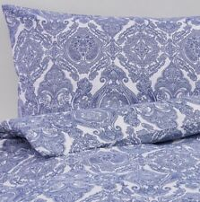 IKEA Skorpil KING SIZE Parure de couette 240 x 220, bleu et blanc, 4 taies, Bnwt