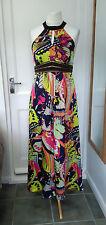 NEXT SUMMER HALTER NECK LONG DRESS SIZE 12 BRAND NEW