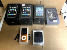 Collectors lot de 6 Apple iPhone 2G 3G 3GS  Ipod Touch 1  Nano 3 4 Sealed