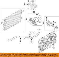 Lincoln FORD OEM 13-16 MKZ Radiator-Upper Hose DP5Z8260A