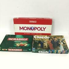 Collection of Hasbro and Mattel Board Games - Scrabble, Cluedo & Monopoly #454