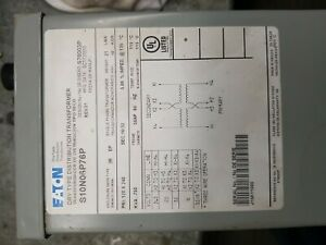 EATON Distribution Transformer S10N06P16P Buck/Boost Single Phase