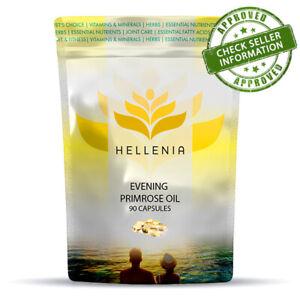 Hellenia Evening Primrose Oil 1000mg - 90 Capsules