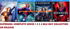 SUPERGIRL COMPLETE TV SERIES 1-4 BLU RAY COLLECTION SEASON 1 2 3 4 UK R2 NEW