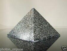Orgone iPhone téléphone cellulaire rayonnement EMF shield pyramide SHUNGITE poudre pyrite chi