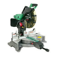 "NEW Hitachi 12"" Dual Bevel Miter Saw with Laser Guide C12FDH BRAND NEW NEW NEW"
