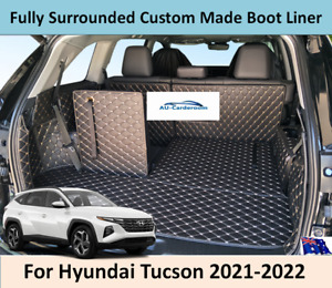 For new Hyundai Tucson 2021-2022 Custom Made Trunk Boot Mats Liner Cargo Cover