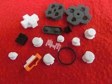 original Nintendo 2DS Buttons, Tasten, Gummi, Rubber Pads, Gehäuseteile in Weiß