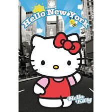 Hello Kitty Poster Print Wall Art Times Square New York Picture 40cm x 50cm 727
