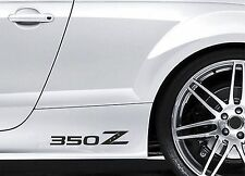 2x Side Skirt Stickers fits Nissan 350Z Premium Car Premium Car Decals BL54