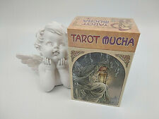 Jeu de tarot divinatoire Mucha, 78 cartes avec livret enFrançais,neuf