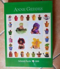 PUZZLE SCHMIDT Anne Geddes 58926 bambini neonati fiori vasi Nuovo 1000 pezzi