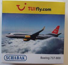 """SCHUCO/SCHABAK AVIATION 1:600: Boeing 737-800 TUIfly """"dans le train au vol"""" DB ICE"""