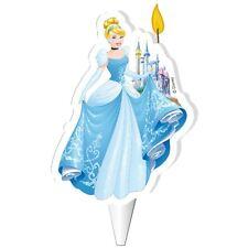CINDERELLA Disney Princess  Birthday Cake Candle Licensed DeKora