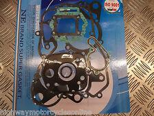 APRILIA RX 50 SX 50 FULL GASKET SET KIT QUALITY DB50BO LATER MODEL