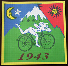 ALBERT HOFMANN BIKE RIDE 1943 LARGE BLOTTER ART TOP QUALITY NOT DIGITALY PRINTED