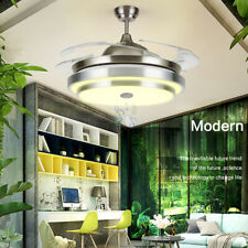 144 LED Remote Ceiling Fan Light Warm cool white with Bluetooth speaker 4 Blades