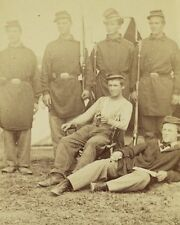 Union 2nd Rhode Island Infantry Soldiers in Uniform New 8x10 US Civil War Photo