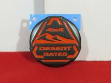 2020 JEEP GLADIATOR Orange Desert Rated Badge NEW OEM MOPAR