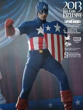 Hot Toys Captain America Star Spangled Man Version 1/6 Scale Action Figure