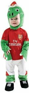 Arsenal Gunnersauraus Fancy Dress Boys Christmas Costume Mask Cape & Belt
