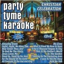 Party Tyme Karaoke: Christian Celebration by Sybersound (CD, May-2005 New! Seal
