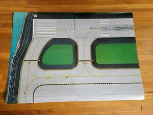 Gemini Jets 1/200 1/400 Double Sided Airport Layout Ground Foil 1st Version