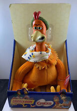"""RARE Playmates 2000 Chicken Run Ginger Plush Deluxe Doll/Toy 18"""""""