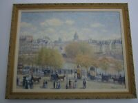 FINEST   Gail Sherman Corbett PAINTING LARGE IMPRESSIONISM CITY VIEW LANDSCAPE