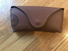 NEW Ray Ban Brown Sunglasses Eyeglasses Case