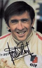 Jackie Stewart SIGNED  Portrait Photo Postcard by The Grand Prix Collection
