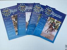 Zangersheide Stud WARMBLOOD HORSE Magazine 4 Issues JUMPING DRESSAGE Olympics