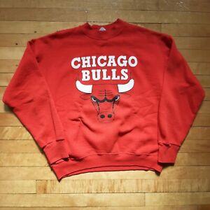 Vintage Chicago Bulls Crewneck Sweatshirt Men's Size Large
