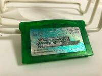 Gameboy Advance Pokemon Emerald GB GBA Game Boy Japan Japanese Nintendo